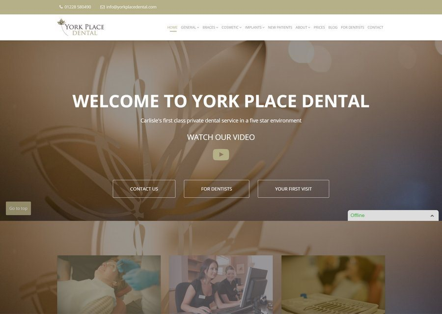 Carlisle Website Design from only £10 per month